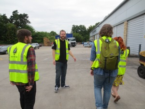 Hi-vis at Thornbridge Brewery
