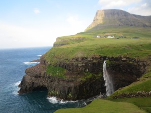 Gasadalur waterfall, Faroe Islands