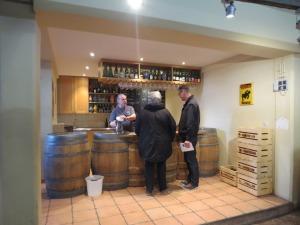 Brasserie Cantillon (Cantillon Brewery) bar area