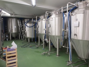 Brussels Beer Project brewery