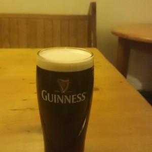 Guinness at O'Learys Irish Bar, Southport