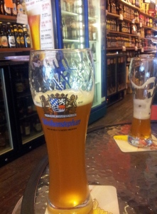 Weihenstephan at The Inn Beer Shop, Southport