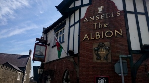Albion Ale House, Conwy, Wales