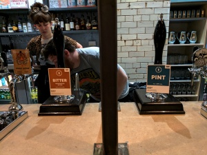 Cask ales at Bundobust Manchester