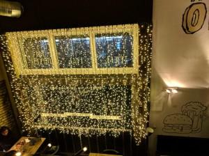 Fairy lights at Kandallo, Budapest