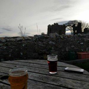 Crown and Anchor Inn beer garden