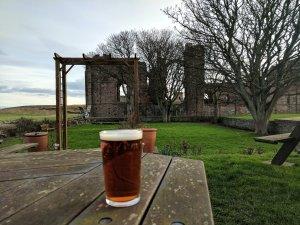 Manor House Hotel beer garden