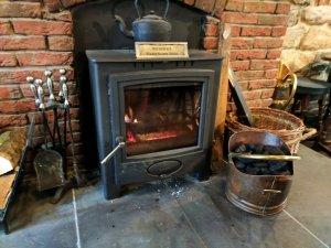 Fire at the Ship Inn, Lindisfarne