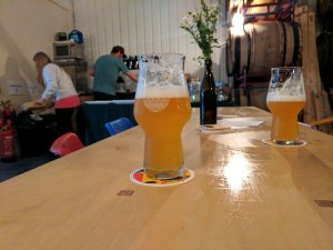 One of Manchester's craft beer breweries, Cloudwater