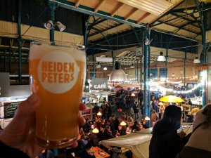 Heidenpeters, a craft beer bar at Markthalle Neun