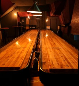 Shuffleboard at Kaschk, Berlin