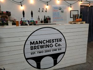 Manchester Brewing Co brew tap, Manchester