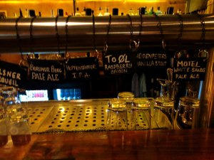 Craft beer on draught at Salt n Bone, Berlin