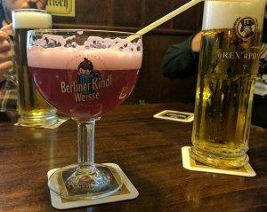 Beer at Zum Nussbaum, Berlin