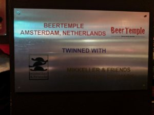 Beer Temple Mikkeller and Friends sign