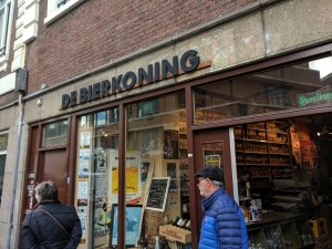 De Bierkoning bottle shop, Amsterdam