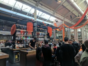 The regular bar at Foodhallen, Amsterdam