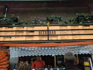 The Beer Bar at Foodhallen, Amsterdam