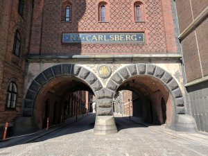 Carlsberg Brewery entrance