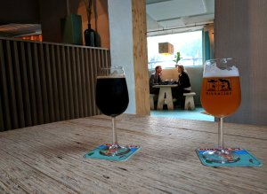 Beer inside Mikkeller and Friends, Copenhagen