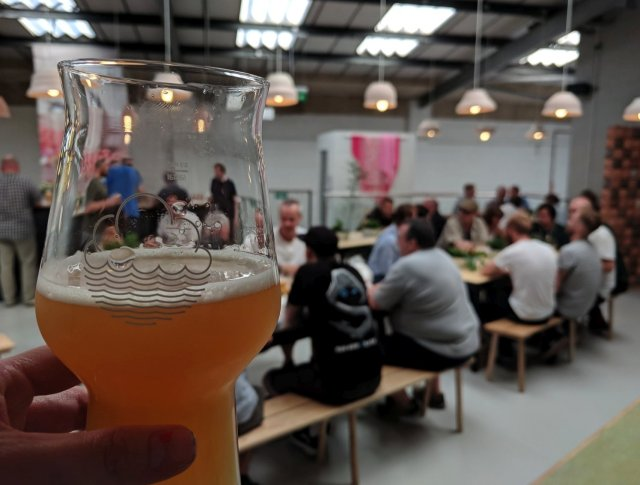 Beer at Cloudwater Unit 9