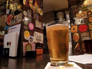 Beer at Ant n Bee, Tokyo