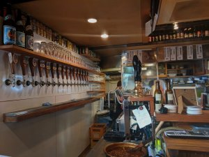 Inside Baird Tap Room, Tokyo