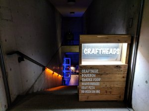 Sign for Craftheads, Tokyo