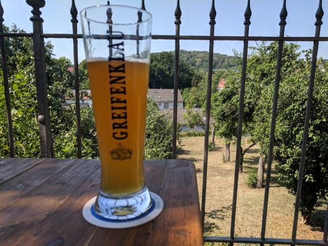 Greifenklau beer garden, Bamberg