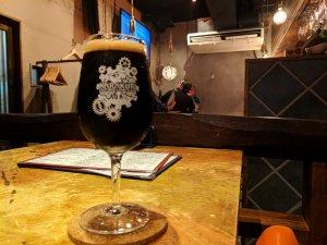 Beer at Karakuri, Tokyo