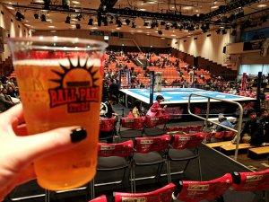 Beer at Korakuen Hall, Tokyo