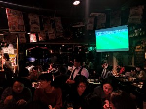 Inside Tokyo craft beer bar Popeye's